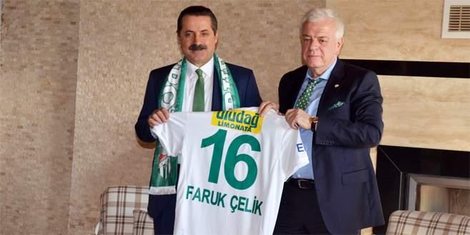 Faruk Çelik: Bursa'yı en güzel Bursaspor tanıtabilir