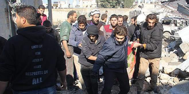 İdlib'de yerleşim yerine saldırı: 12 ölü, 23 yaralı