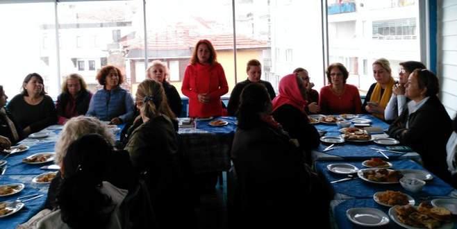 Mudanya'da kadın sorunları tartışıldı