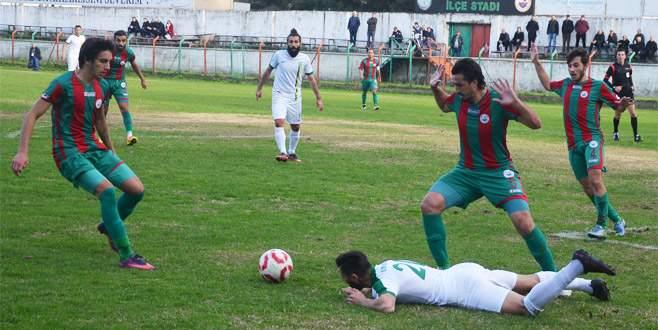 Mudanya beraberliğe talim! 0-0