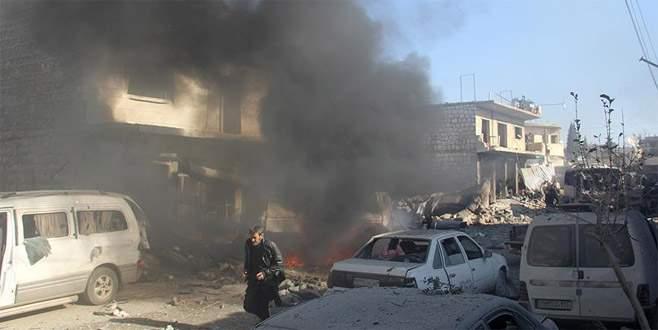 Suriye rejimi, İdlib'de sivillere saldırdı