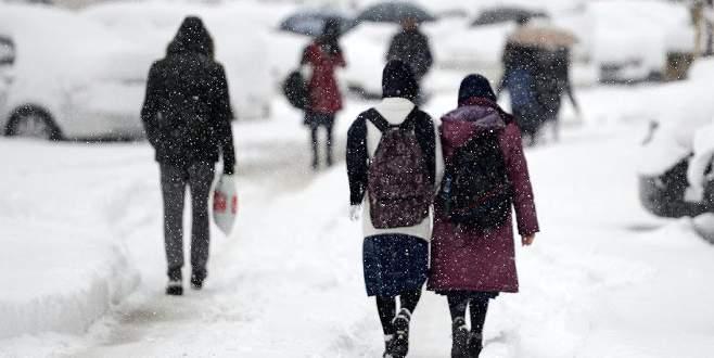 4 ilde eğitime kar tatili!