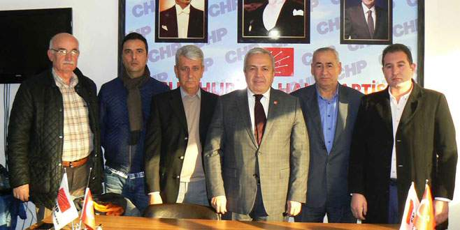 CHP Orhangazi'de Geçici Kurul'a onay