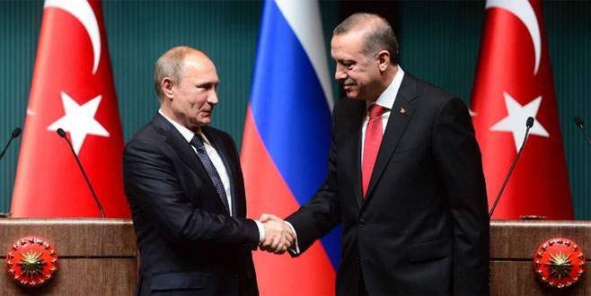 Putin'den Erdoğan'a teşekkür