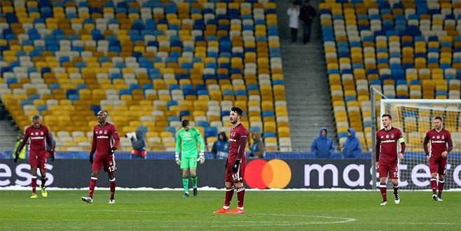 Dinamo Kiev 6-0 Beşiktaş