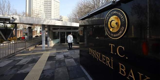 Almanya'nın Ankara Büyükelçisi Dışişleri'ne davet edildi