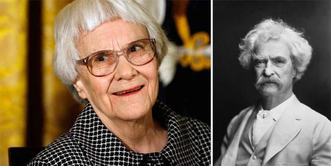 Mark Twain ve Harper Lee yasaklandı