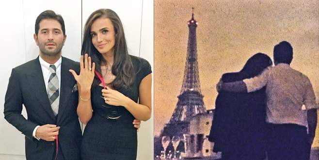 Paris'te evlenecekler