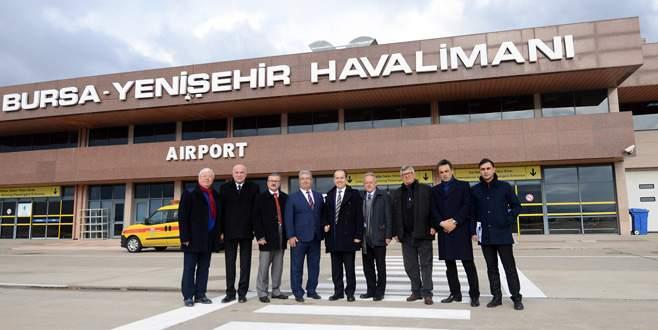 'Kısa süre içinde Yenişehir'de kargo uçaklarını göreceğiz'