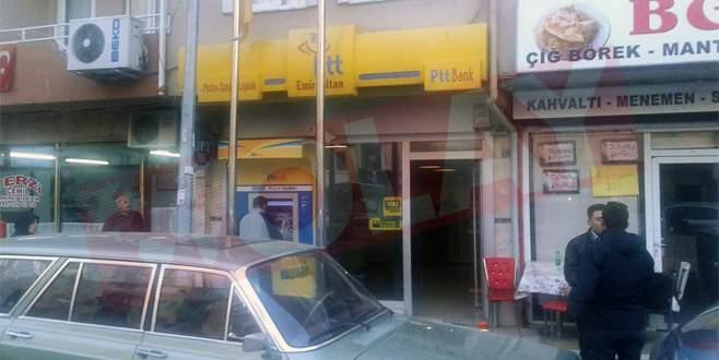 Bursa'da PTT şubesi soyuldu