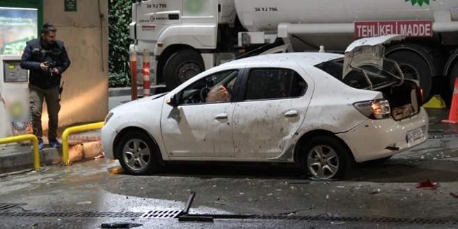 Benzin istasyonuna bombalı saldırı!