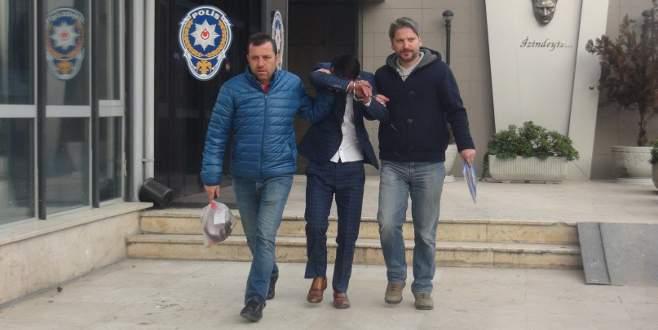 Bursa'da sahte emlakçı 25 bin lira dolandırdı