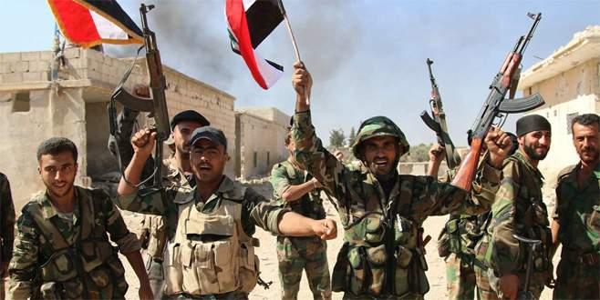Halep'in doğusu Esad'ın kontrolünde