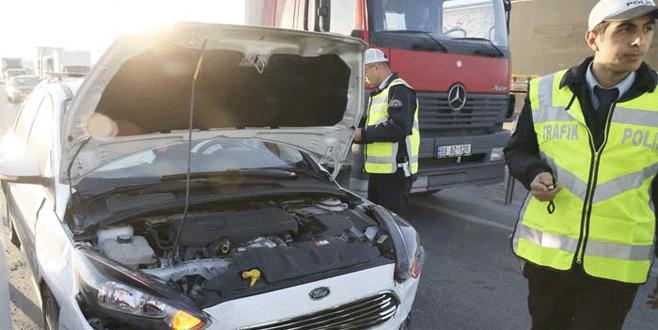 Cumhurbaşkanı Erdoğan'ın konvoyunda kaza: 2 yaralı