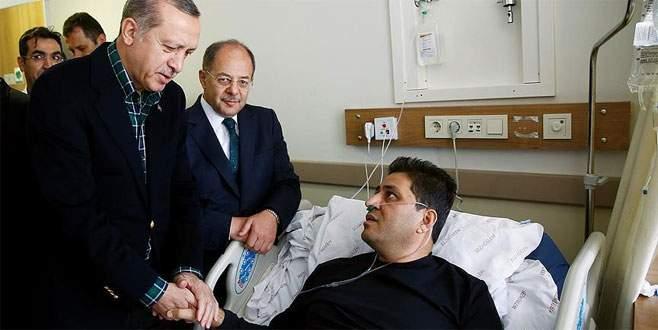 Erdoğan İstanbul'daki terör saldırısında yaralananları ziyaret etti