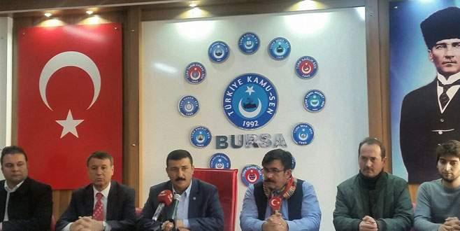 Türkoğlu: Devletimiz kararlığını artırmalıdır