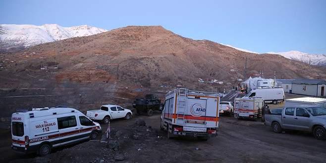 Siirt'teki maden ocağında son işçinin cenazesine ulaşıldı