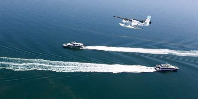 Deniz uçağında yeni rota