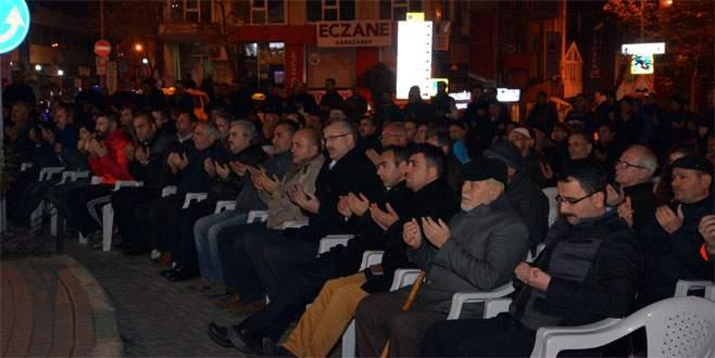 Bursa'da şehitler için mevlid