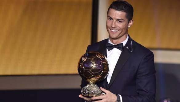 Altın Top Ödülü, 4. kez Ronaldo'nun