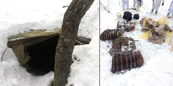 PKK'nın kış tertiplenmesine darbe