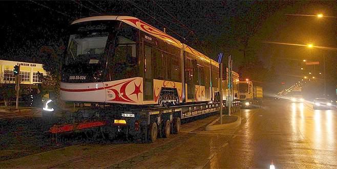 Bursa'dan yola çıkan tramvay Samsun'a ulaştı