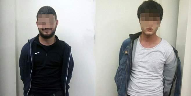 Bursa'da polis, pencereden tırmanıp hırsızları suçüstü yakaladı