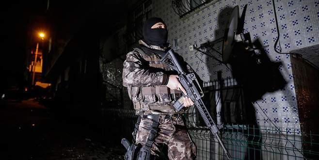 28 ilde terör operasyonu: 568 gözaltı