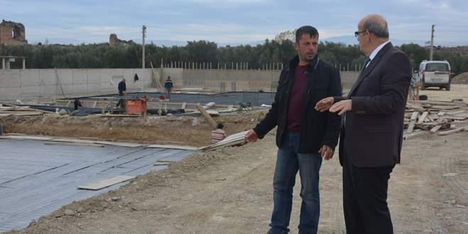İznik'e yeni belediye binası ve kültür merkezi