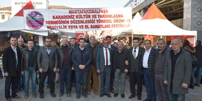 Mustafakemalpaşa'da teröre karşı birlik mesajı