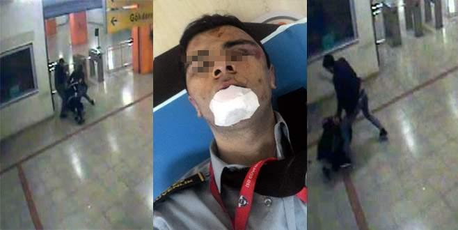 Bursa metrosunda iki maganda dehşet saçtı