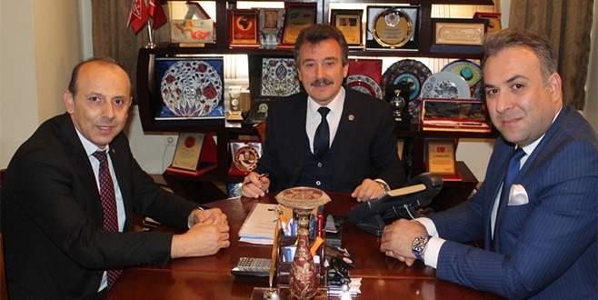 BUSAD'tan Başkan Çelik'e ziyaret