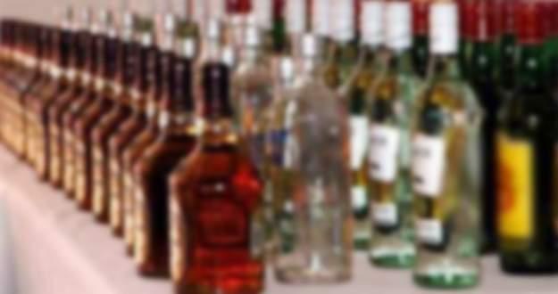 Bursa'da 197 şişe kaçak içki ele geçirildi
