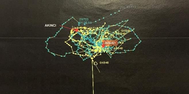 İşte darbe girişiminin radar izleri ve mühimmatları