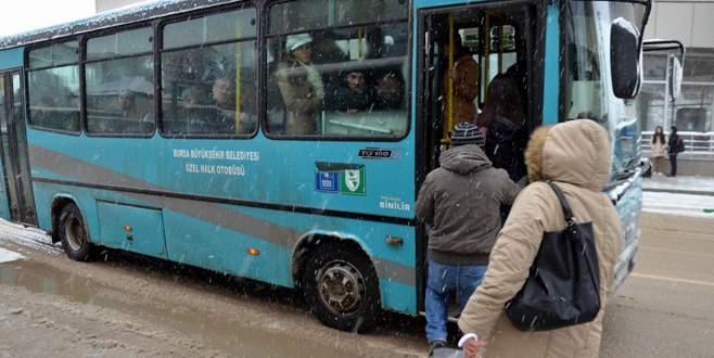 Bursa'da korsan otobüslere geçit yok