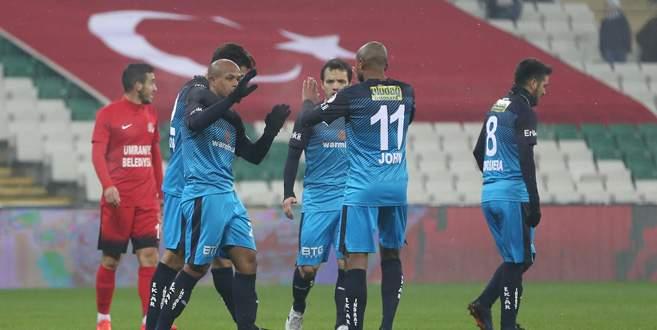 Bursaspor 3-0 Ümraniyespor