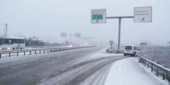 Sürücülere 'gizli buzlanma' uyarısı