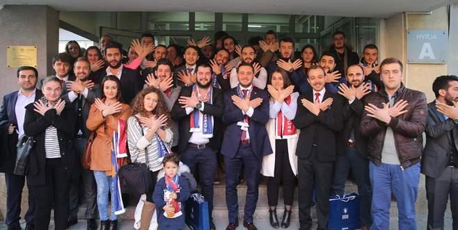 Gençlerden Balkanlar'a 15 Temmuz çıkarması