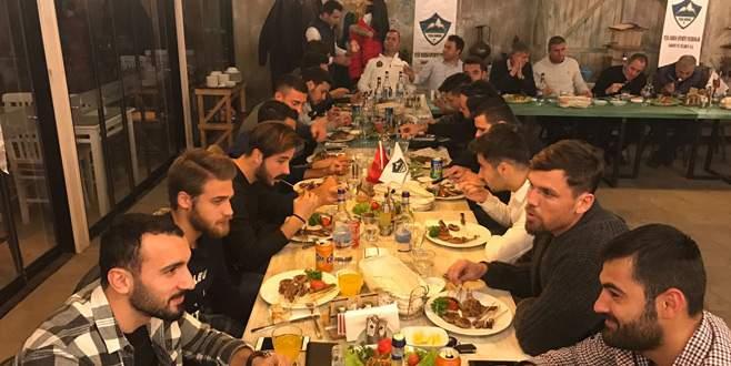 Bodrumspor maçı öncesi 'Pilot'a moral yemeği