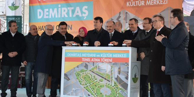 Osmangazi'nin yeni cazibe merkezi Demirtaş olacak