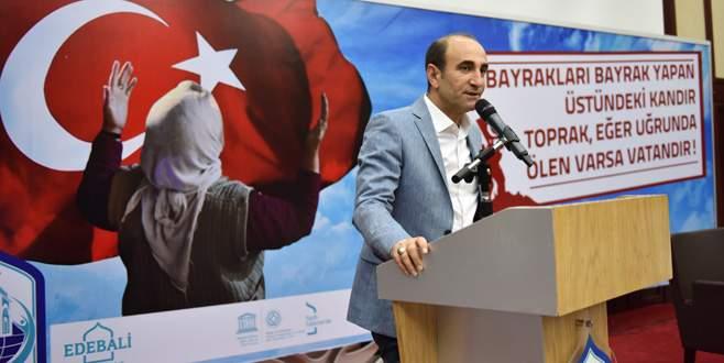 Edebali: Türkiye'yi bölemeyecekler