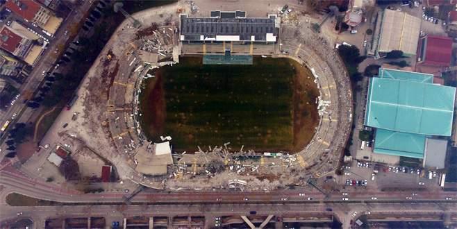 Atatürk Stadı'nın yıkımında sona gelindi