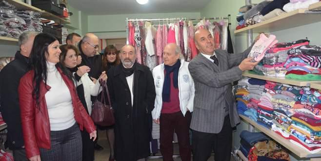 Mudanya'da Gönülden Gönüle mağazası açıldı