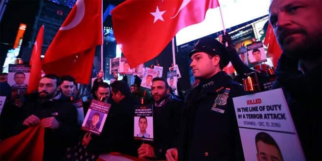 New York polisinden Türk polisine destek