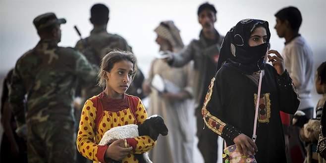 Musul'da evleri terk edenlerin sayısı 120 bini geçti