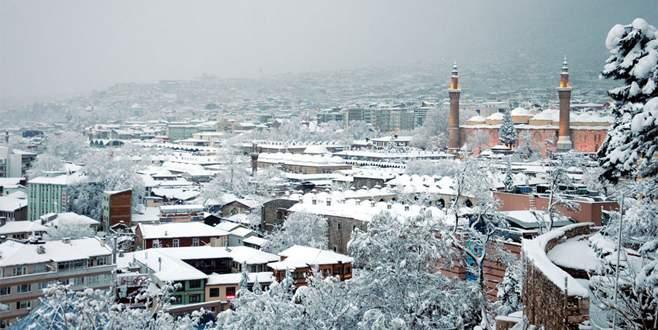 Meteorolojiden Bursa için kar uyarısı
