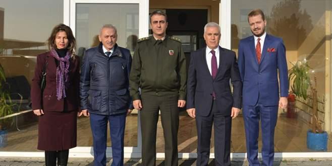 Bozbey'den Jandarma'ya başsağlığı ziyareti