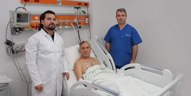 Sağlığına Bursa'da kavuştu