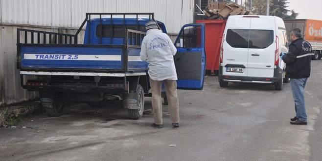 Görükle'de çalınan kamyonet İnegöl'de bulundu