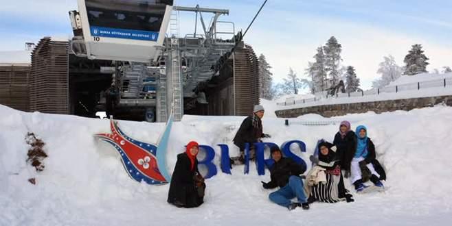 Uludağ'da kar kalınlığı 2,5 metreye yaklaştı